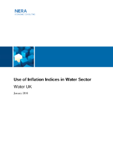 Use of Inflation Indices in Water Sector